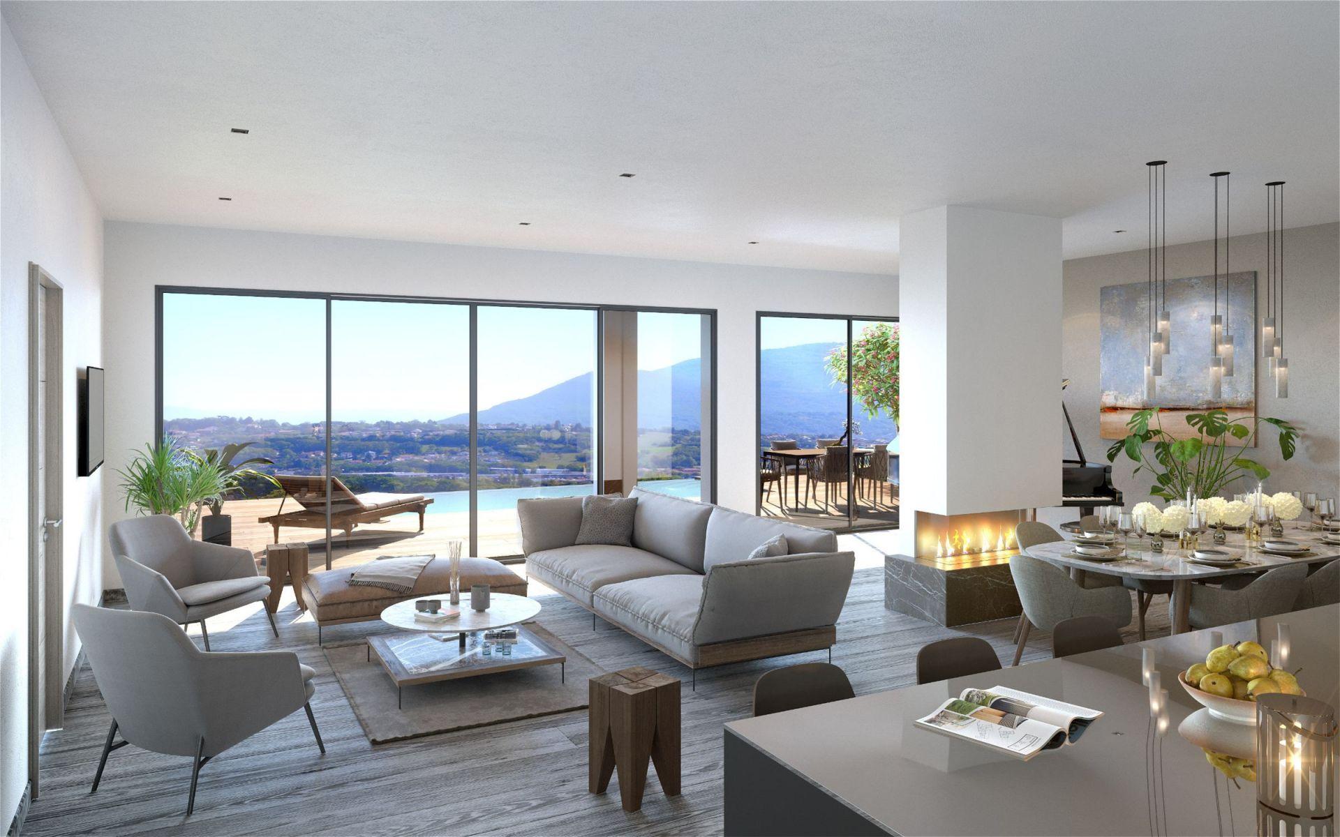 53aa1bf53626 appartement de luxe 3 pièces en vente sur CRANVES SALES (74380) - Immobilier  de