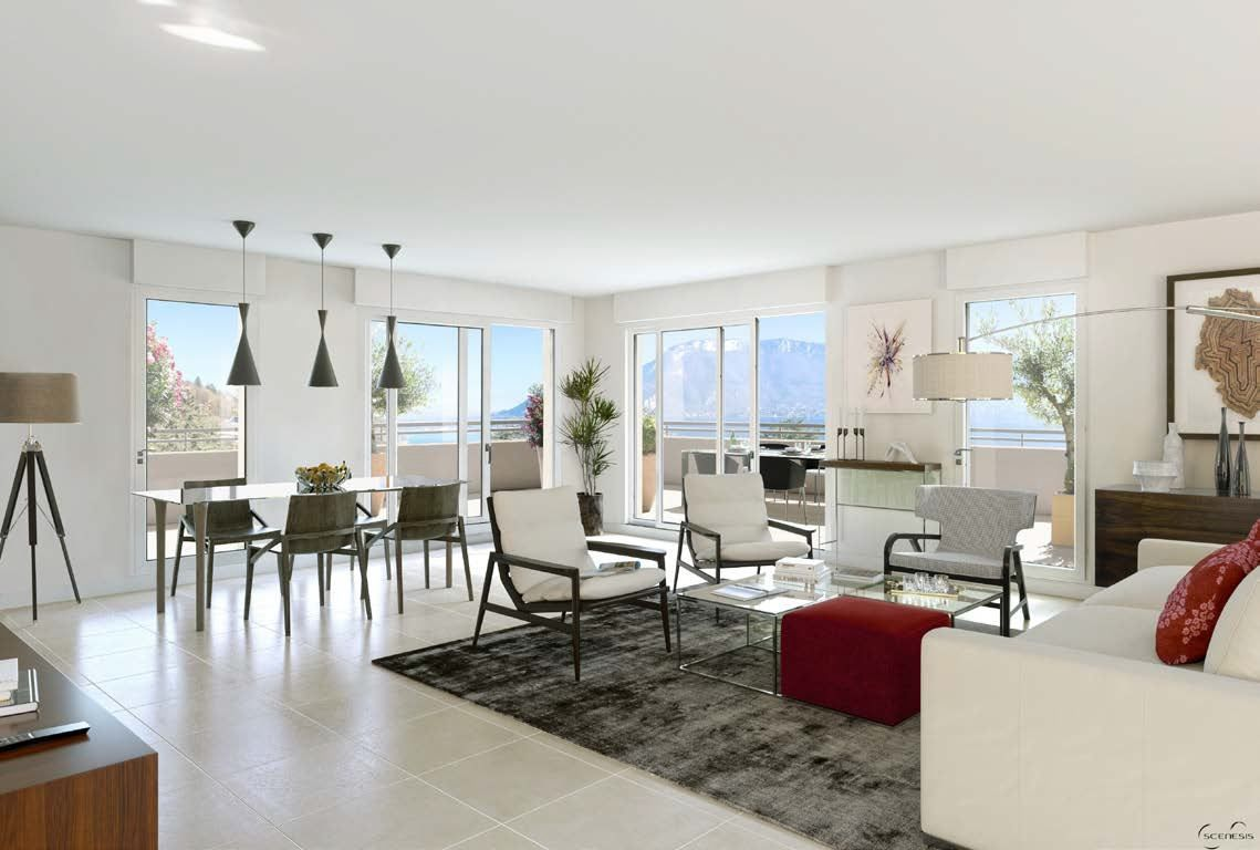 apartment 5 rooms for sale on SEVRIER (74320) - Luxury and prestigious real estate France Monaco